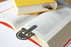 Lou stainless steel bookmark by Pilot Project  #design #productdesign #bookmark #book #reading