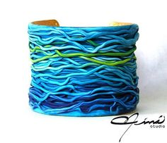 Marine Entangle #ÚnicaConNináStudio #blue #handmade #hechoenVenezuela #hechoamano #madeinvenezuela #designersvenezuela