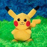 Receita Pikachu • Amigurumi Crochê Pokemon