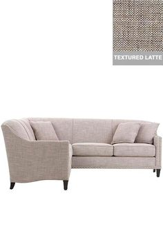 Custom Rockford Sectional - Custom Sectional Sofa - Custom-upholstered Furniture - Sectional Couches - Living Room Sectionals | HomeDecorators.com