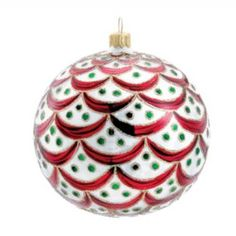 kurt adler david strand glass regency ball christmas ornament treetopiaholidays christmas bells glass christmas