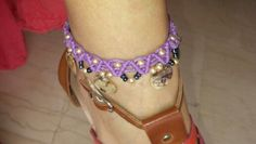 Iliada's sweet whispers -macrame anklet