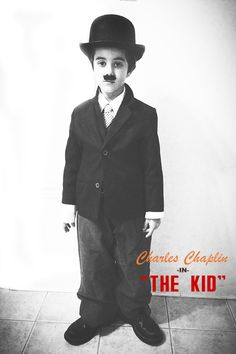 I MADE: Charles Chaplin in The Kid- Halloween Edition//petitapetitandfamily.com