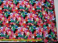 Stoff grafische Muster - Farbpixel Jerses - ein Designerstück von Annas-Stoffe bei DaWanda