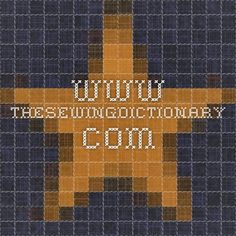 www.thesewingdictionary.com