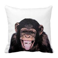 Pop Art Funny Chimpanzee
