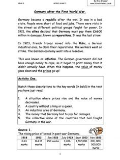 The Italian Renaissance :Activity Worksheet for 7th - 9th Grade ...