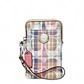 Coach iphone wallet, I seen this at the store today and I see a mothers day gift in my future ;)