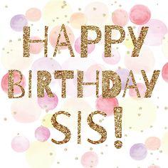 #happybirthday #birthday #birthdaywishes #sis #sister