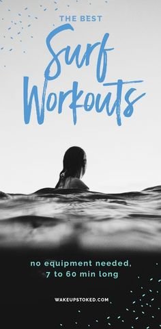 Workout Surf Workouts to do from anywhere – here is a selection of workouts which are from 7 to 60 min long. You can do it to prepare for your surf trip or while you are traveling. Kitesurfing, Surfs Up, Surf Workout, Decoration Surf, Surf Decor, Surf Training, Kite Surf, Bicep Muscle, Surfing Tips