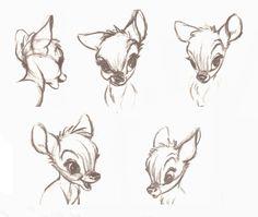 #disney art #bambi