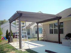 how to build a pergola over a patio