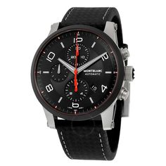 Montblanc Timewalker Urban Speed Chronograph Automatic Black Dial Men's Watch (112604)