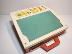 Vintage Fisher Price Toys School Days Desk