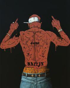 Tupac X @chimodu #tupac #chimodu #deladeso