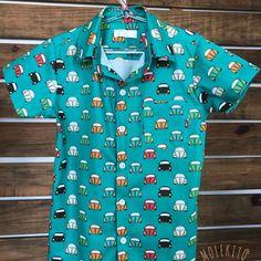 Camisa FuscaMaterial 100% Algodão com arte digital Camisas sob encomenda  nos tamanhos 2 4 53a136f63ac3a