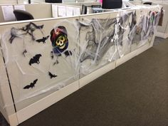 images of office cubicles halloween decorations google search