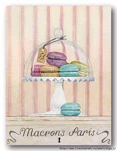 French Macaroons 2 Poster Print by Arnie Fisk x Framed Artwork, Framed Prints, Wall Art, Canvas Art, Canvas Prints, Art Prints, Collages D'images, French Macaroons, Food Drawing