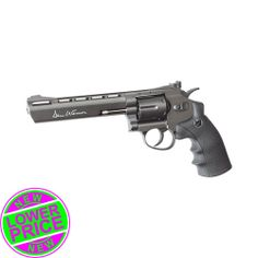 "Dan Wesson Airsoft Revolver 6"" Grey 