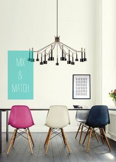 ♥ the Eames Chairs