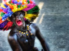 Son de Negros - Personajes populares en el carnaval de Barranquilla. ¡Me encantan!