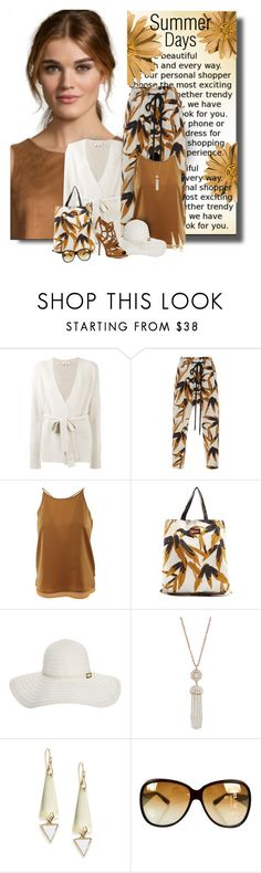 """""""Summer Days"""" by diva1023 ❤ liked on Polyvore featuring Helmut Lang, Marni, Scotch & Soda, Melissa Odabash, Humble Chic, Alexis Bittar, Bottega Veneta and Paul Andrew"""