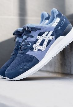 Asics Gel Lyte III - Lilas Asics Gel Lyte Iii, Baby, Sneakers, Shoes, Fashion, Purple Shoes, Lavender, Pumps, Spring Summer
