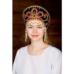 Kokoshnik tradicional ruso Viktoriya