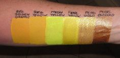 TAG color swatches by JestPaint.com Tag Face Paint, Face Painting Tips, Body Painting, Paint Swatches, Color Swatches, Calcium Carbonate, Halloween Disfraces, Paraffin Wax, Baby Oil