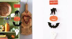 Bricolage d'Halloween : le mobile en papier