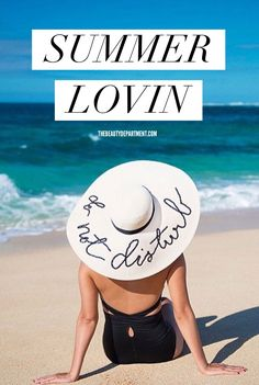 """THIS hat + 11 other things you """"really need"""" this summer. :]"""