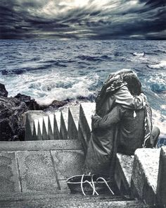 my love, let's throw ourselves into the sea  #surrealism  #collageart  #collage  #surrealart  #surrealismo  #surrealist Dada Collage, Collage Art, Surreal Art, Surrealism, Sea, Outdoor, Outdoors, The Ocean, Ocean