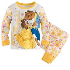 Disney Beauty and the Beast Belle and Beast PJ PALS Pajamas for Baby