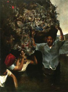 Selección de pintura (2008 - 1999) - Edgar Mendoza, página WEB JIMDO, REALISMO