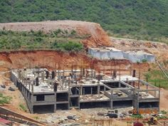Progress of the Club House on 12 Aug 2013 *Vizag real estate, houses, homes