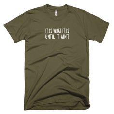 """""""IIWIIUIA"""" Short Sleeve T-shirt"""