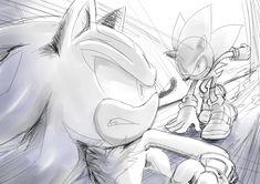 Shadow and Sonic Sonic The Hedgehog, Shadow The Hedgehog, Rouge The Bat, Sonic Heroes, Sonic And Shadow, Amy Rose, Sonic Boom, Kirito, Hedgehogs