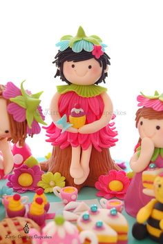 Emily the birthday fairy! by Little Cottage Cupcakes, via Flickr