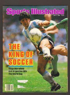 Advintage Plus - Sports Illustrated Magazine July 7 1986 The King of Soccer Diego Maradona, $9.99 (http://www.advintageplus.com/sports-illustrated-magazine-july-7-1986-the-king-of-soccer-diego-maradona/)