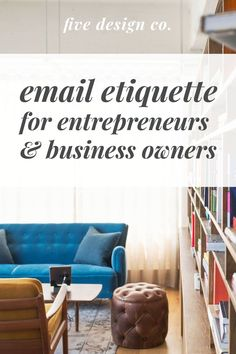 Our top email etiquette tips for entrepreneurs and business owners looking to provide good customer service, enhance your brand strategy and grow your business with effective email communication. Business Design, Business Tips, Online Business, Strategy Business, Creative Business, Business Coaching, Email Marketing Strategy, Business Marketing, Social Media Marketing