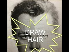 Pencil Drawing Tutorial Part 6 - How to Draw Hair - Drawing Hair STEP BY STEP - YouTube