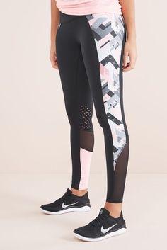 8e9d2d1d5e Buy Geo Print Leggings from Next Slovenia Print Leggings, Black Leggings,  Trouser Jeans,