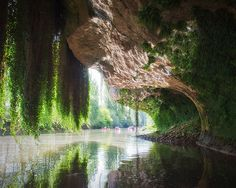 Vezere River, Perigord, France