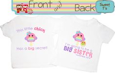 Front and Back Design This Little Chick is Going To by Sweetteez1, $16.50