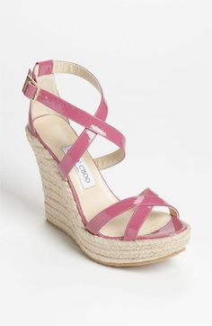 'Porto' Wedge Sandal jimmy choo