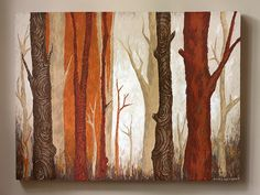 Cinnamon Forest Painting by witandwhistle, via Flickr
