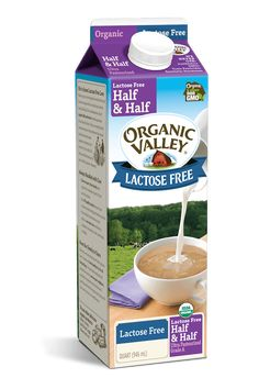 Made with natural enzymes and organic cream and milk, our Lactose-Free Half & Half offers pasture-raised goodness for everyone. Add it to your coffee or your next dessert—it can even add some flavor to your next batch of mashed potatoes! Lactose Free Chocolate Milk, Milk Brands, Milk Products, Free Products, Full Fat Milk, Fodmap Diet, Low Fodmap, Healthy Aging, Frappe