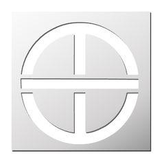 Pochoir Symbole