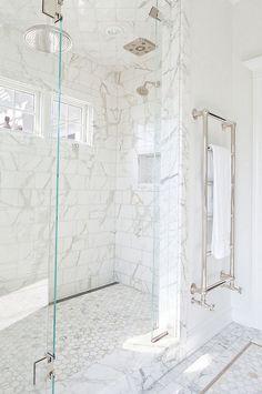 White marble tile, white marble honeycomb tile