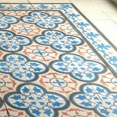 Traditional Bayahibe Cement Tile in custom colors.